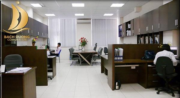 Rèm cửa lắp cho văn phòng hiện đại