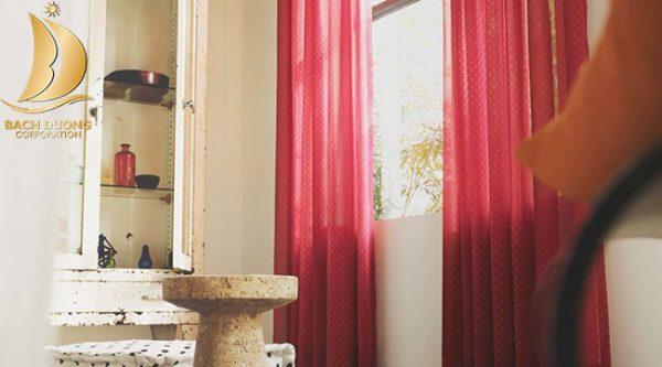 Rèm vải PA - Rèm Bạch Dương