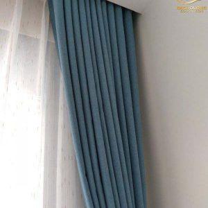Rèm vải 2 lớp đẹp cho chung cư