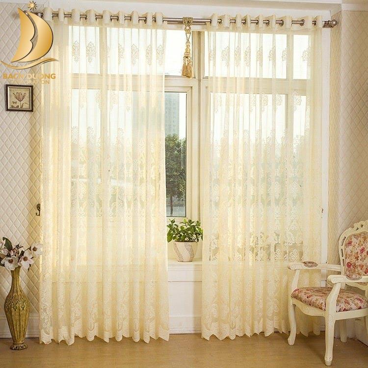 Rèm cửa phòng khách sang trọng nâng cao thẩm mỹ cho không gian sống