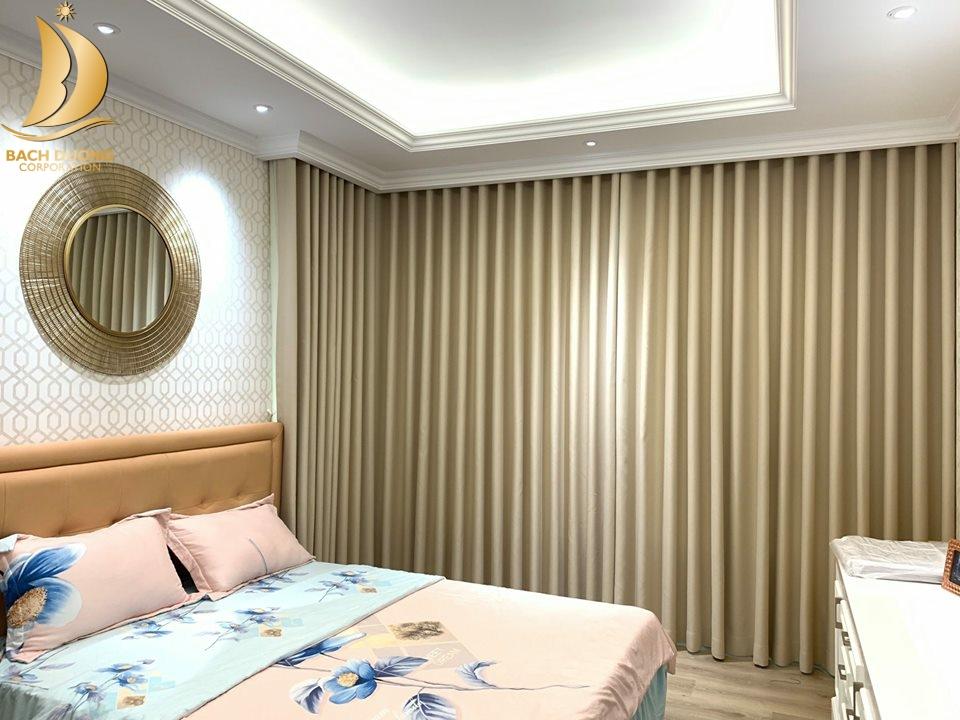 Bộ sưu tập rèm vải phù hợp phòng ngủ